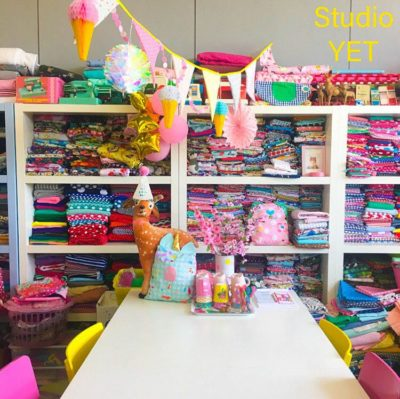 Studio YET naailessen kinderfeestjes feest